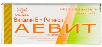 Аевит – поливитаминный препарат