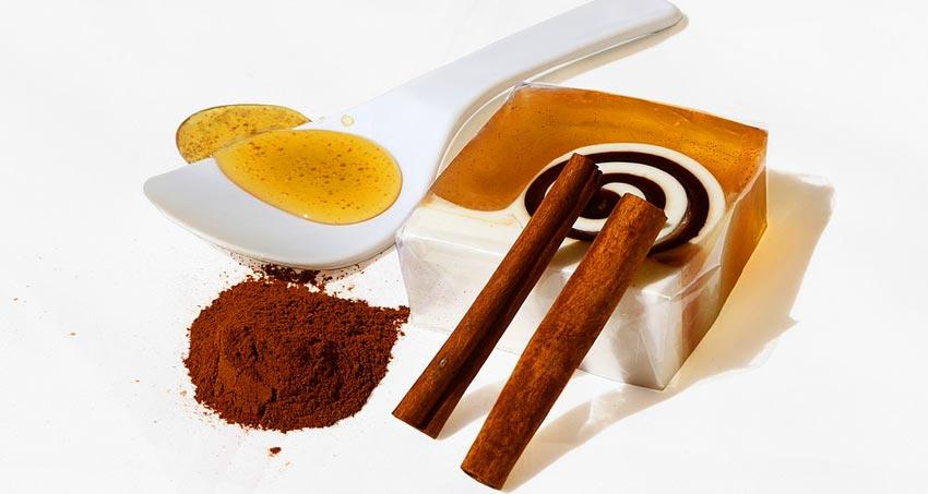 Медово-имбирное мыло с добавлением корицы и гвоздики