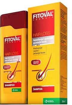 Шампунь Фитовал против выпадения волос