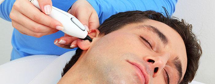Удаление волос в носу и ушах у мужчин