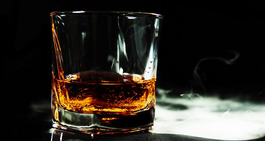 Употребление алкогольных напитков