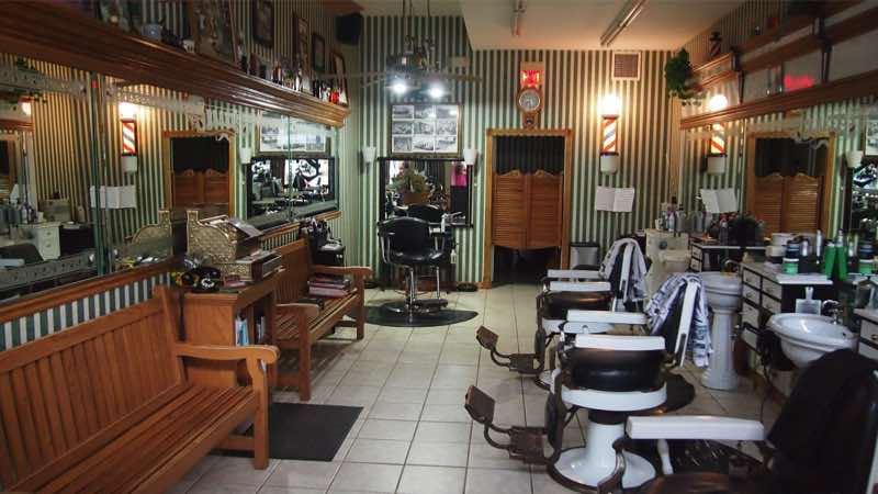 Мужские парикмахерские барбершоп