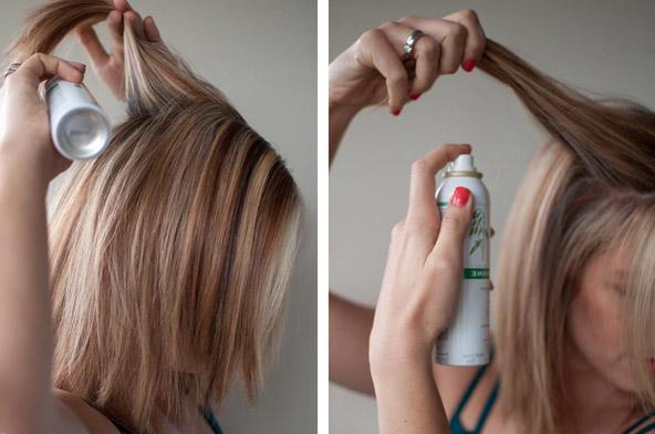 Сухое мытье волос. Как пользоваться сухим шампунем?