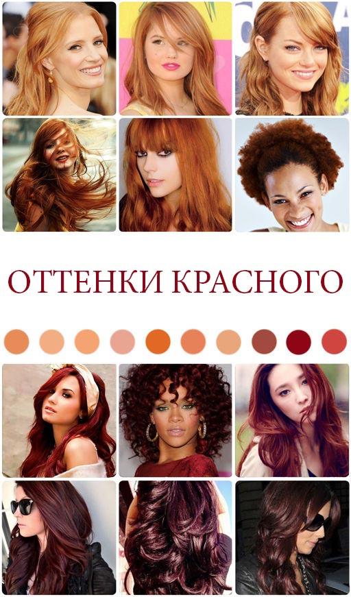 Красные волосы в тренде 2016