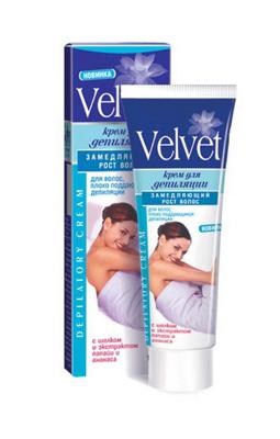 Крем для депиляции лица Velvet
