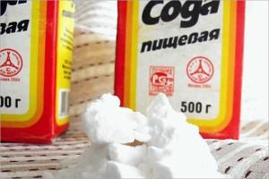 Сода - народное средство от плесени в ванной