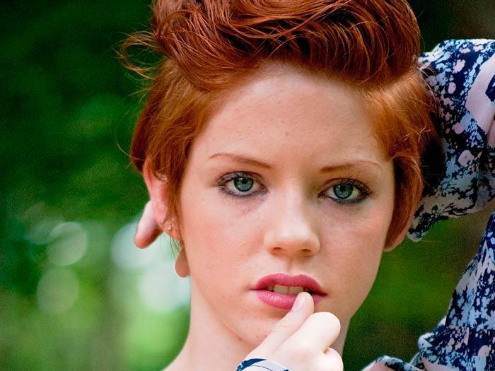 Cамый модный цвет волос 2016 - это рыжий
