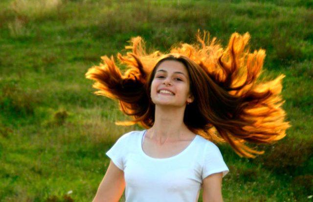 Типы волос головы