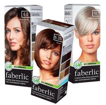 Краска для волос без аммиака Фаберлик