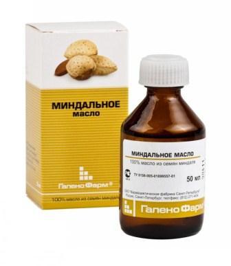 Миндальное масло обладает легкой и нежной текстурой