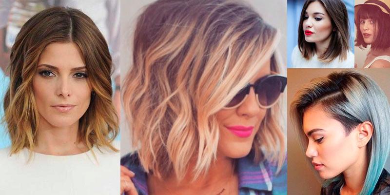 Модные стрижки 2016 фото на средние волосы