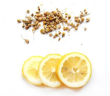 Ромашка с лимоном