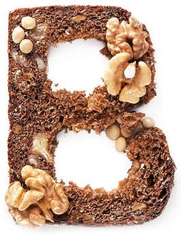 Витамин B в хлебе