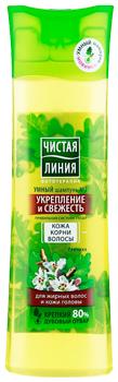 Чистая линия шампунь для жирных волос