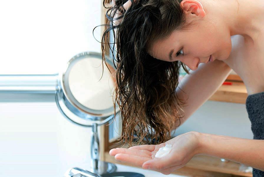 Маска для сухих кончиков волос в домашних условиях