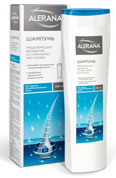 Лечебный шампунь Алерана для жирных волос