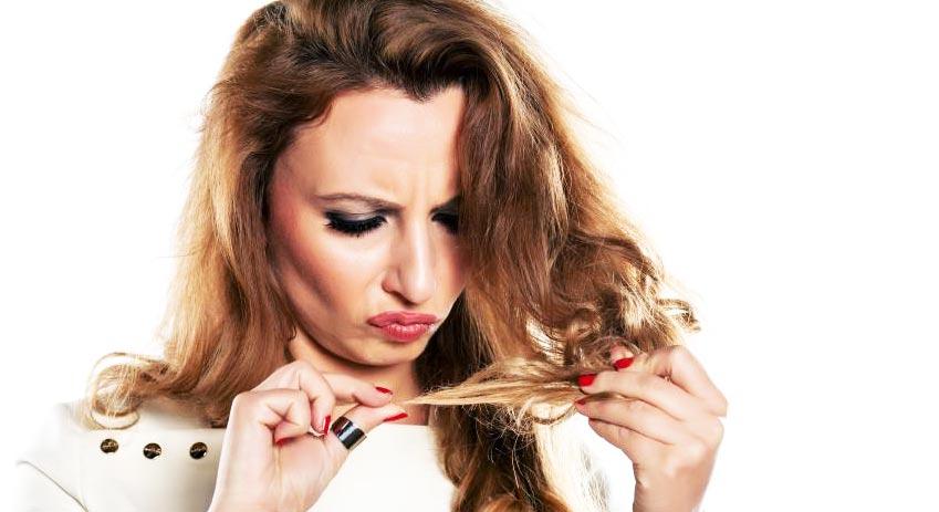 Опасности появления секущихся волос