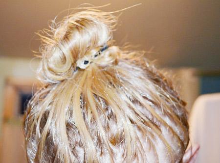 оливковая маска для волос