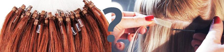 Какое наращивание волос лучше: капсульное или ленточное