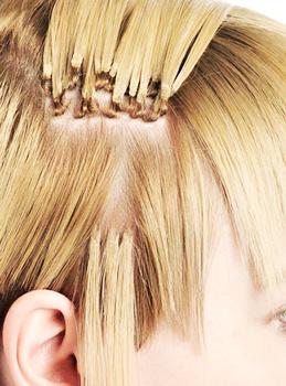 Капсульное наращивание волос: технология процедуры