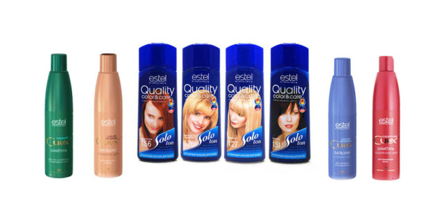 Оттеночный шампунь Эстель – секрет безупречных волос
