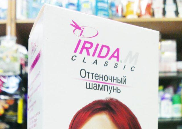 Оттеночный шампунь Ирида – меняем имидж без вреда для волос