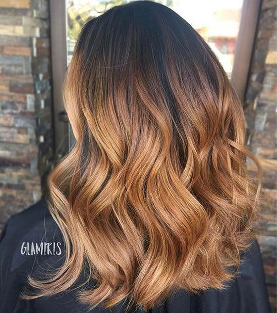 Модный цвет волос летом
