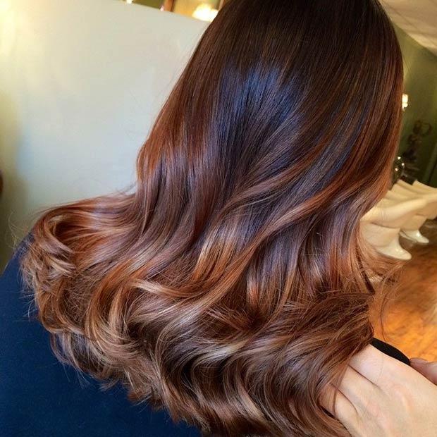Фото: цвет волос лета