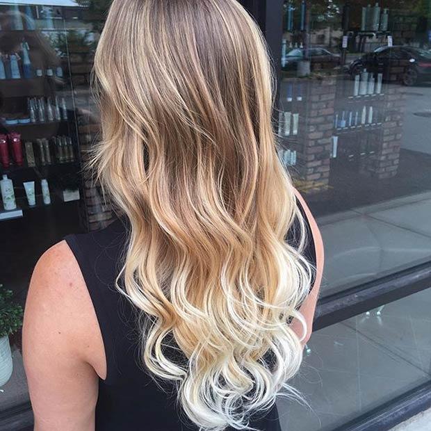 Цвет волос летом фото 2016