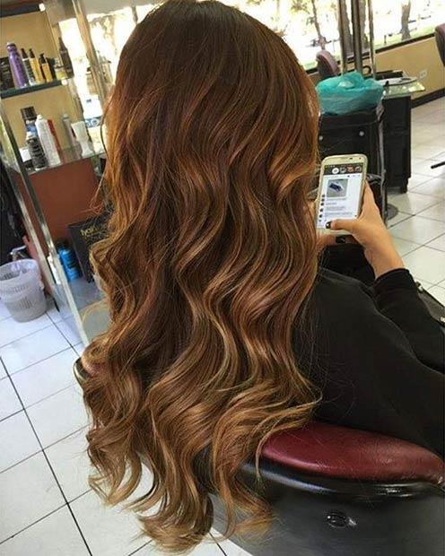 Фото: цвет волос летом