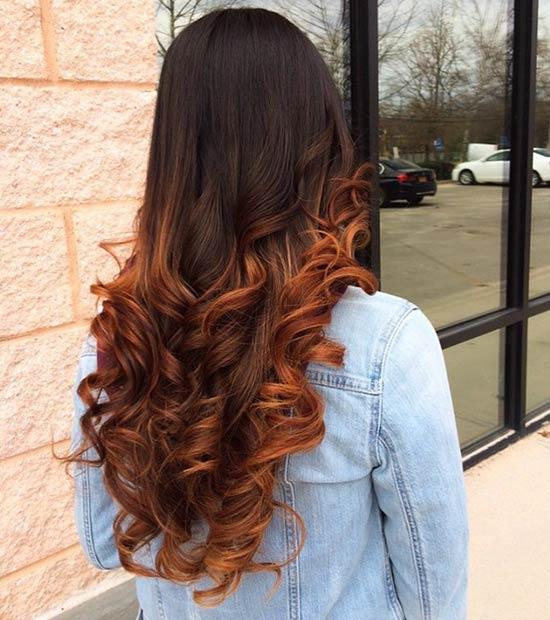 Модный цвет волос летом 2016