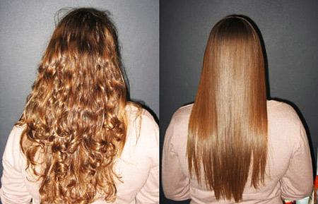 Химическое выпрямление волос: что это за процедура