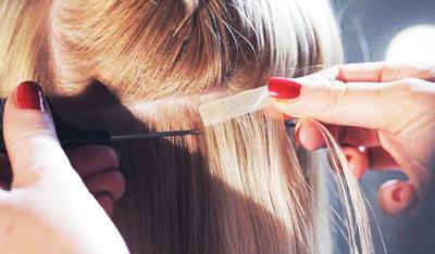 Ленточное наращивание волос: особенности технологии