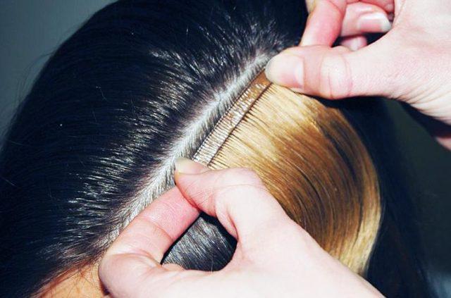 Ленточное наращивание волос: отзывы и особенности технологии