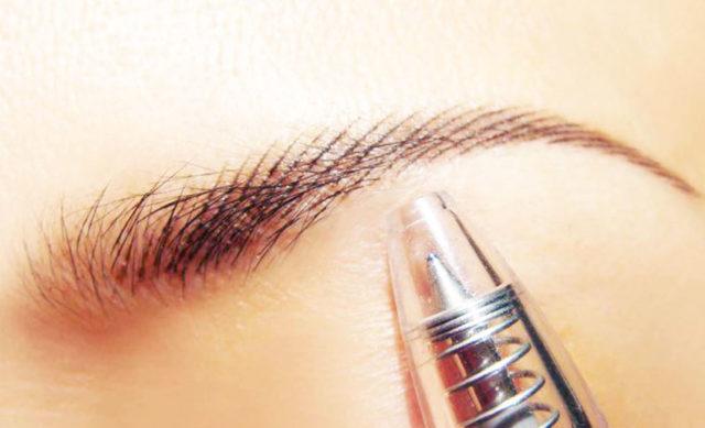 Татуаж бровей волосковым методом - в чем особенности процедуры, фото до и после