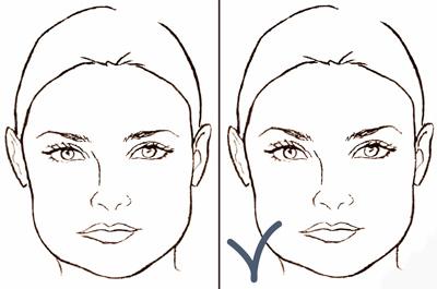 форма бровей для квардратного лица