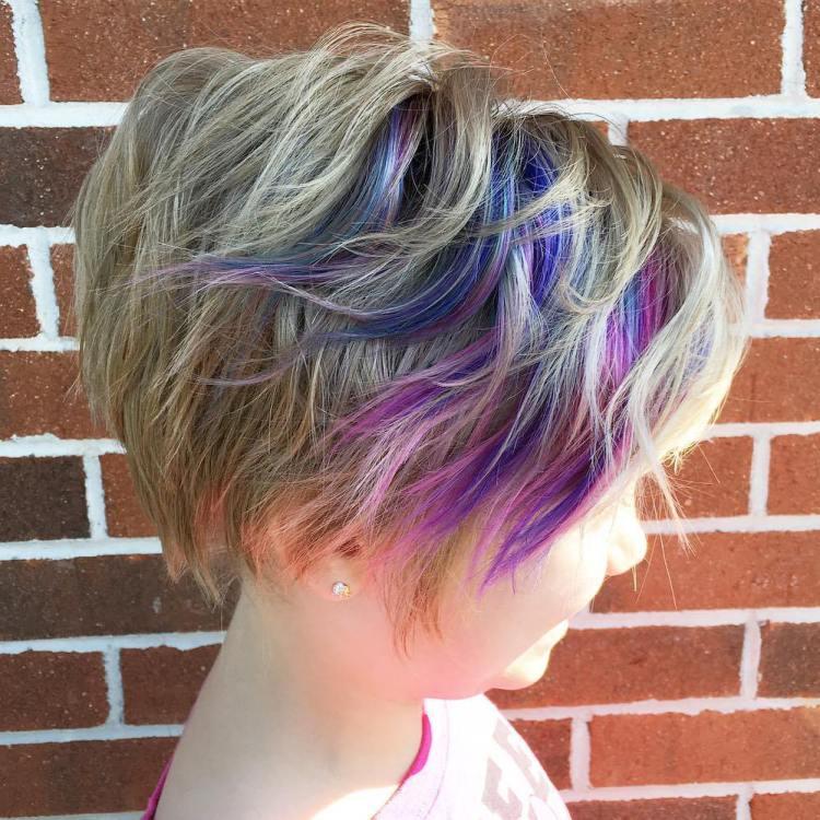 Пикси - для девочек стрижку волос