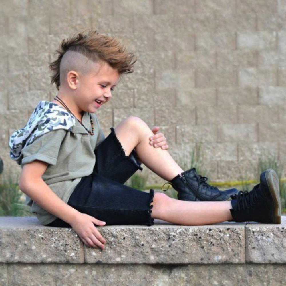 ФОТО Детские стрижки для мальчиков