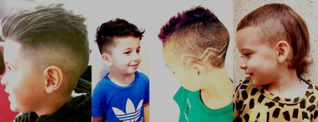 Детские стрижки для мальчиков