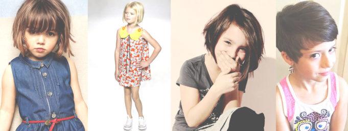 Детские модные стрижки для девочек фото
