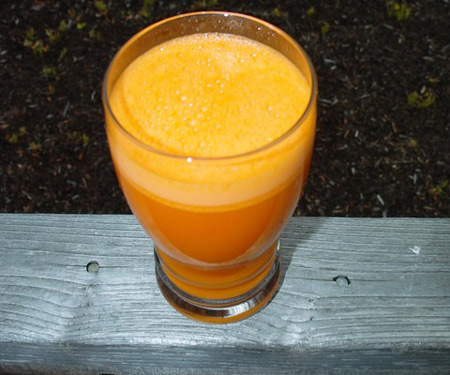 Маска из моркови и репейного масла
