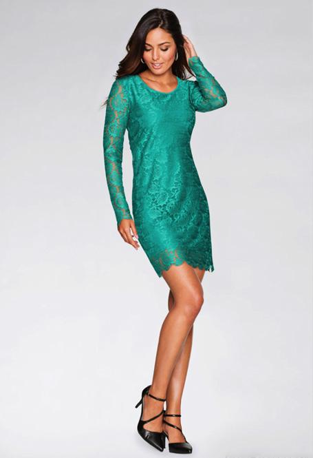 Минималистичное платье для встречи Нового года