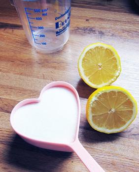 Паста с лимонным соком