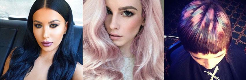 модные цвета волос в 2017 году