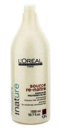 Натуральные шампуни L'Oreal Professionnel Source Re-Naitre