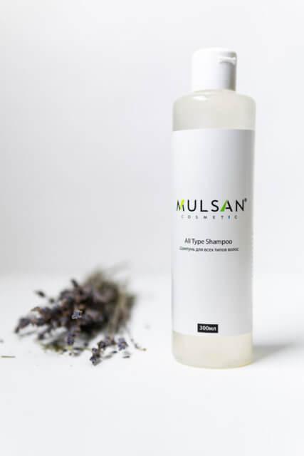 MULSAN cosmetic представлены продукты со 100% натуральным составом без силиконов, сульфатов и красителей