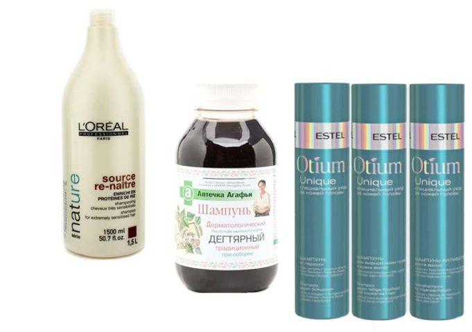 Натуральные шампуни для волос