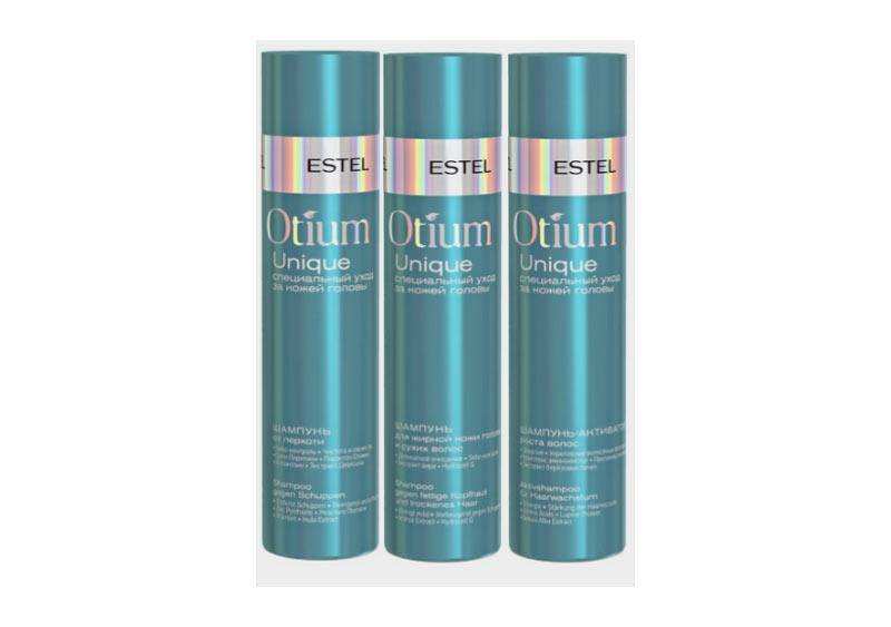 Натуральные шампуни Estel Otium