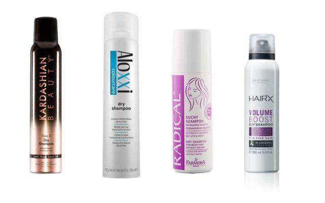 Сухие шампуни для волос
