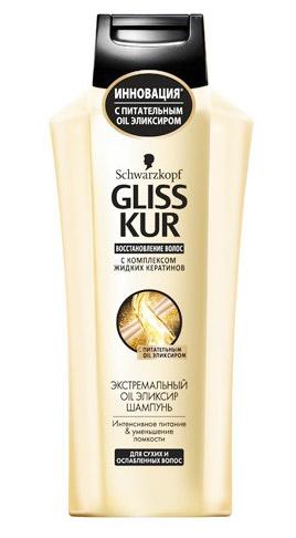 Фото: Gliss kur с комплексом жидких кератинов